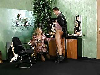 Sexy German Boss Fucking Employee