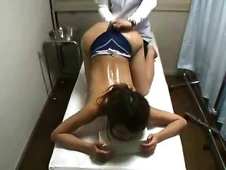 Hidden Cam Spy Young Japanese Massage Patient Fingered