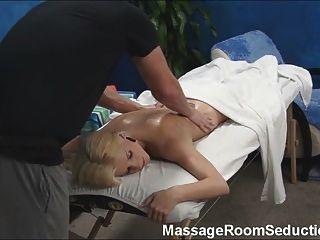 Massage Therapist Seduces Hot Girl!