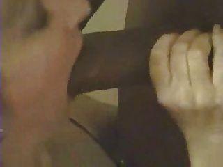 White Chick Sucking Black Cock