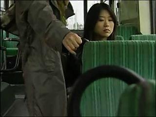 Japanese Lesbian Bus Sex (censored)
