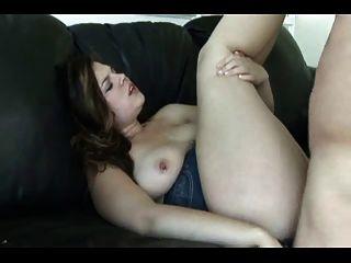 Fucking My Fat Chubby Ex Girlfriend, She Swallows Cum