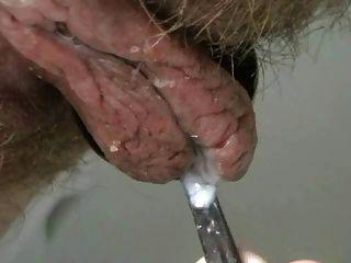 Creamy Hairy Pussy Play