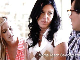 Moms Teach Sex - He Finally Gets To Fuck His Stepmom!