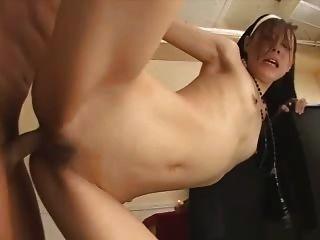 Japanese Porn Uncensored Sex - Horny Nun (rhj073)