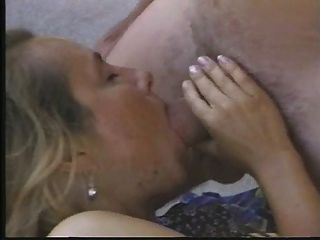 Hairy Blond Mature Likes Cock In Both Holes
