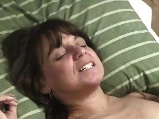 Nasty Mature Couple Has Fun With Lesbian Friend. Home Made