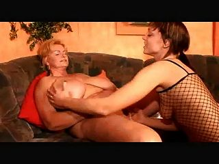 Bbw Lesbian Granny And Her Young Girlfriend