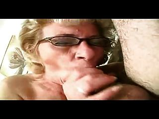 Little Titted Mature Milf In Glasses And Stockings Fucks