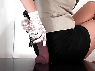 Eat Your Own Cum From My Heels