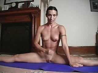 Yoga Jerk Off Insructions