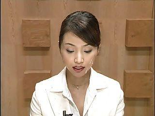 Japan News With Cumshots. Scene 1
