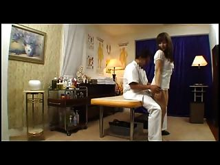 Japanese Girl Gets Fucked By Masseur