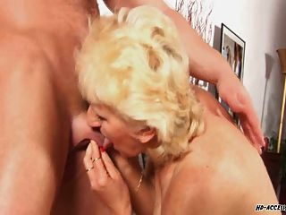 Granny With Huge Tits Fucked In All Positions