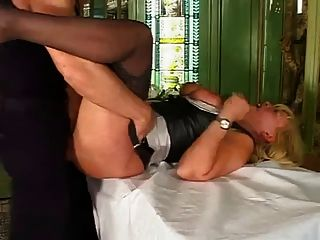 Hot German Mature Having Sex With Younger Male