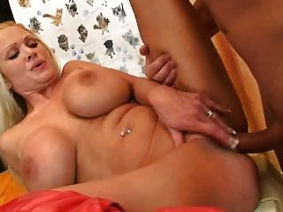 Huge Boobed Milf In Red Boots Getting Fucked Hard
