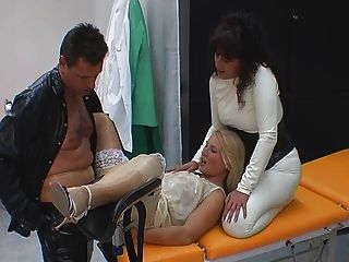 Rubber Games At The Gyn Clinic