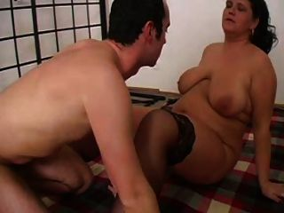 Sexy Mom N103 Brunette Bbw Mature And A Younger Man