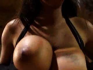 Big Tits Carmen Hayes In Black Lingerie