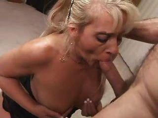 Mature Blonde Blow Job