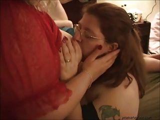 Bbw Funny Lesbian Orgy Pt1