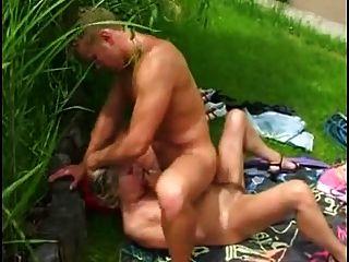 Mom And Boy Sex In Garden