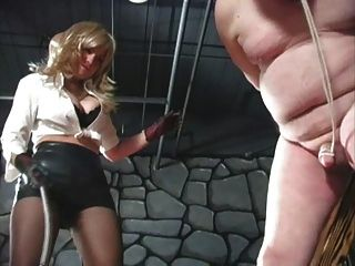 Cock And Balls Tortured And Burnt With Cigarette - Preview