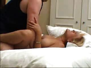 Blonde Wife Screams As Her Man Fucks Her. Enjoy