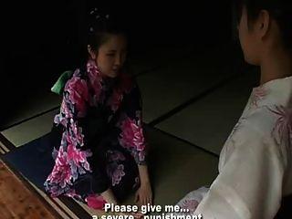 Japan Girl Punish By Her Mum