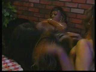 Anna Amore, Brooke Harlow And More Black Women. All Black Women Lesbian Scene.