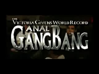 Victoria Higgins Anal Gangbang World Record 950 Cock 1