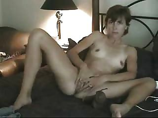Horny Wife Likes To Be Watched While She Masturbate. Home Made Video