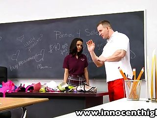 Innocenthigh Firmtits Schoolgirl Dillion Harper Classroom Ha