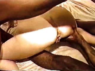 White Slut In A Rough Bbc Gangbang