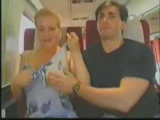 Big Tit Blonde Groped On Train