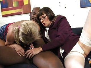 Black Guy Breeding Old White Mom And Nasty Teen Girl