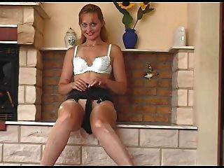 Kirsty Blue -  Tan Stockings