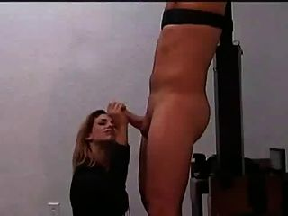Tied Handjob And Long Post Orgasm Torture