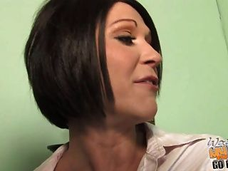 Son Watching Shameless Mom Rides A Huge Black Cock