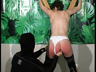 A French Redhead Will Take A Big Punishment - On Fantas.tv
