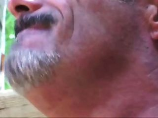 Hairy Beefy Daddy Pleases Asian Twink