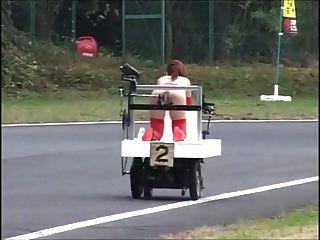 Japanese Bondage - And Squirts! - Robot Race