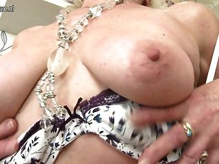 Old But Still Hot Granny And Her Old Vagina