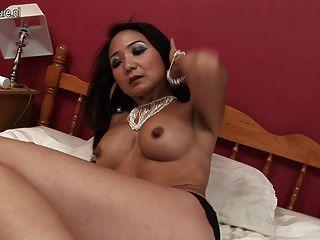 Sexy Mature Japanese Mother Needs A Good Fuck