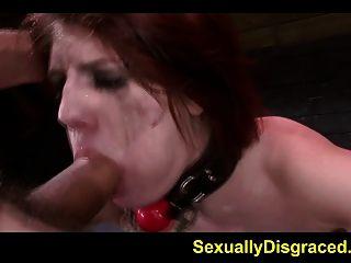 Neck Collared Slave Velma Dearmond Fucked Hard By A Big Cock