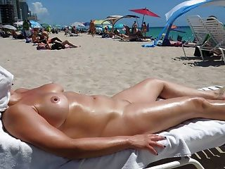 Perfect Boobs On Nude Beach