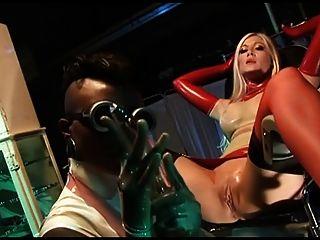 British Slut Michelle B In A Kinky Ffm Threesome