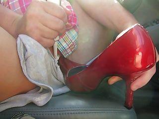 Masterbation With My High Heels
