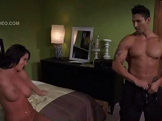 Savannah Stern With A Male Stripper