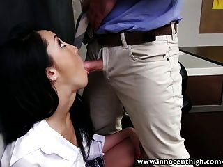 Innocenthigh College Student Ass Licked And Fucked In Classr